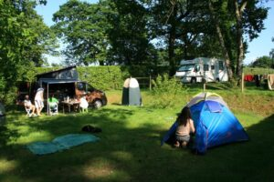 espace individuel du camping